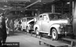 The Conveyor Belt At Vauxhall Motors c.1950, Luton