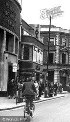 Luton, The National Provincial Bank, George Street c.1950