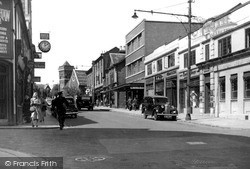 Upper George Street c.1950, Luton