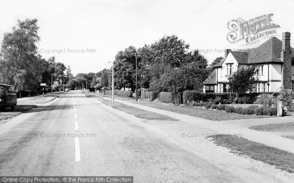 Lutterworth, Bitteswell Road c1965