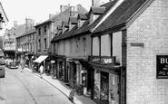Lutterworth, Church Street c1955