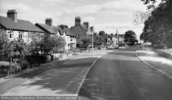 Lutterworth, Coventry Road c1965