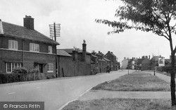 Lutterworth, Leicester Road c.1955