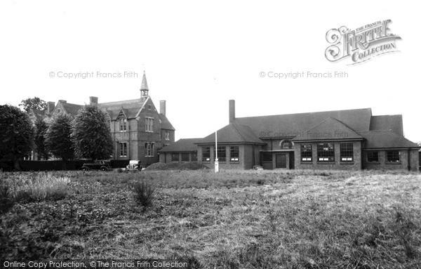 Lutterworth, the Grammar School c1955