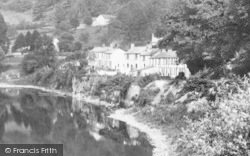 Lydbrook, Houses By The River Wye 1893