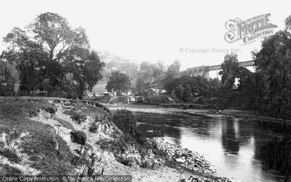 Lydbrook, the River Wye 1893