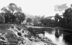 Lydbrook, The River Wye 1893