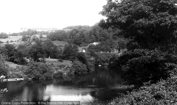 Lydbrook, the River Wye c1955