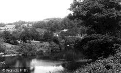 Lydbrook, The River Wye c.1955