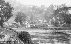 Lydbrook, Village And River Wye 1893