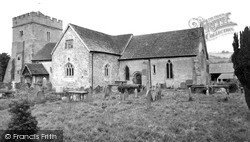 Lydbury North, Church Of St Michael And All Angels c.1960