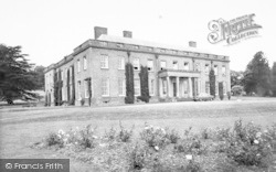 Lydbury North, Walcott Hall, Home Of Lord Clive Of India c.1960