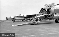 Aircraft Loading, Ferryfield Airport c.1960, Lydd