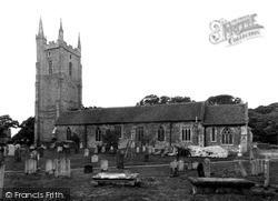 All Saints Church c.1955, Lydd