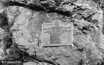 Lydford, Black Rock, War Memorial 1922