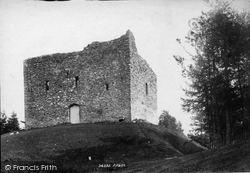 Lydford, Castle 1895