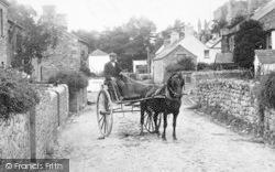 Lydford, Horse Cart 1906