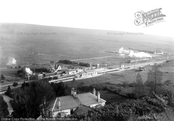 Photo of Lydford, Junction, Railway Station And Train 1907