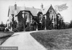 Lydford, Lydford Bridge Hotel 1895