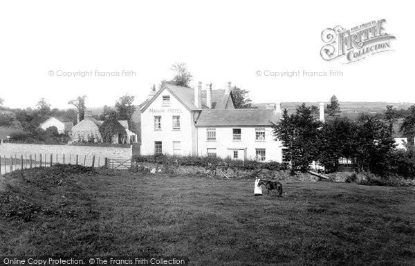 Photo of Lydford, Manor Hotel 1895