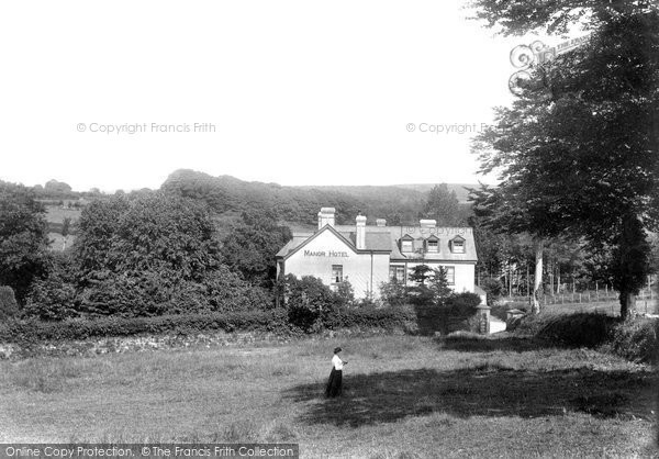 Photo of Lydford, Manor Hotel 1906