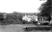 Lydford, Manor Hotel 1906