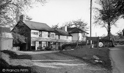 Lydford, Moorside Hotel c.1955