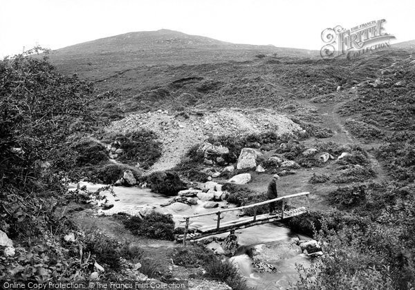 Photo of Lydford, River Lyd And Bray Tor 1922