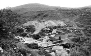 Lydford, River Lyd and Brat Tor 1922