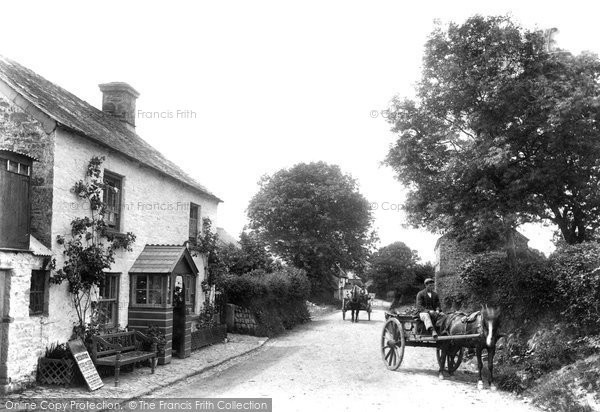 Photo of Lydford, The Village 1906
