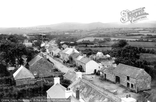 Lydford, Village and Tors 1907