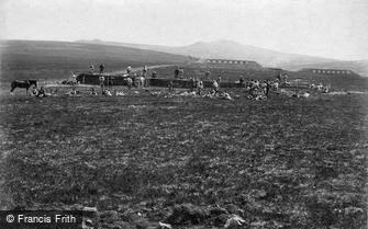 Lydford, Willsworthy Camp Range 1910