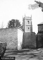 Lydiard Tregoze, St Mary's Church c.1950