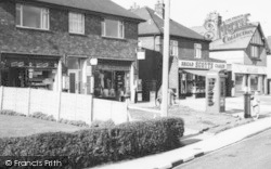 Shops On Moss Lane c.1965, Lydiate