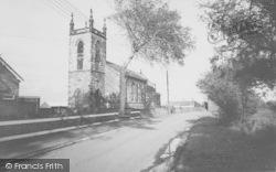 St Thomas Parish Church c.1965, Lydiate