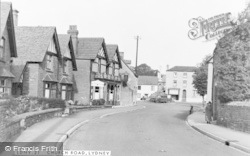 Lydney, Church Road c.1955