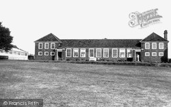 Lydney Secondary Modern School c.1955, Lydney