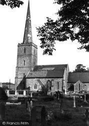 Lydney, St Mary's Church c.1955