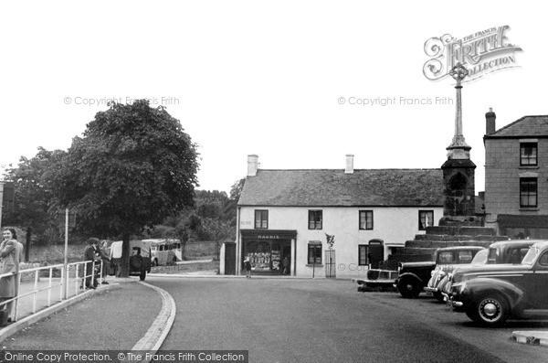 Lydney, the Cross c1955