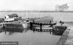 Lydney, The Harbour c.1960