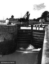 Lydney, The Lock c.1955