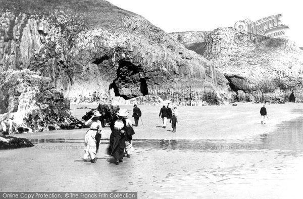 Photo of Lydstep, On The Beach 1890