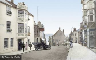 Lyme Regis, Broad Street 1909