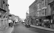 Lyme Regis, Broad Street 1930