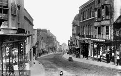 Lyme Regis, Broad Street c.1905
