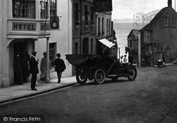 Car In Broad Street 1909, Lyme Regis