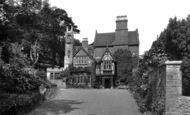 Lyme Regis, Coram Court Guest House 1930