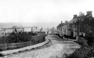 Lyme Regis, Harbour 1890