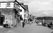 Lyme Regis, Marine Parade c1955