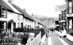 Lyme Regis, Sherborne Lane 1907